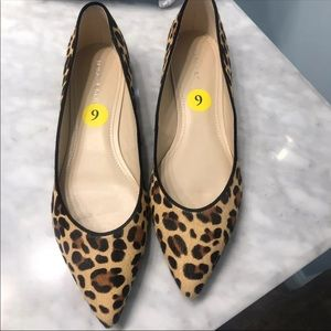 Marc Fisher Leopard Alany Flats Size 9 NWOB